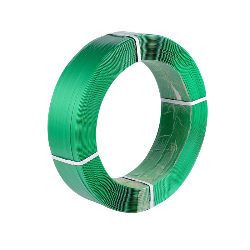 High tensile strength Green Embossed Plastic PET packing Strap Belt packing Tape Roll
