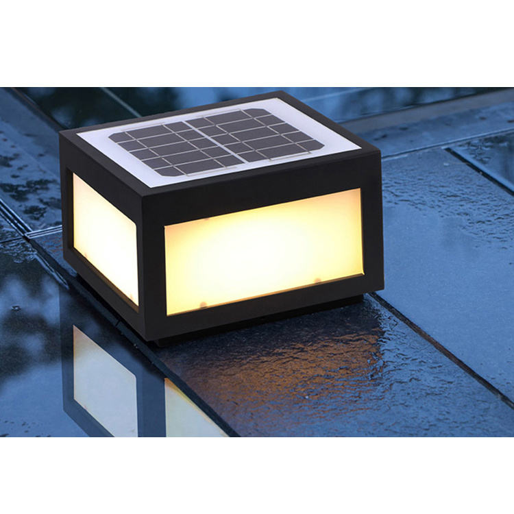 Factory directly LED SMD 111~240V outdoor solar light pillar