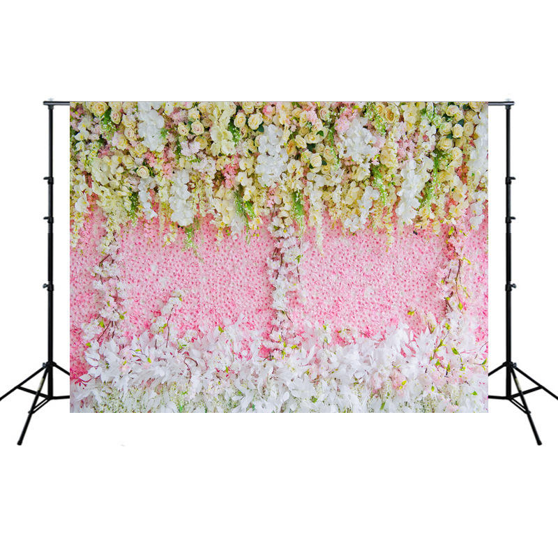 Wall Home Wedding Supplies Photography Studio Props Flower Wall Scene Romantic Wedding Backdrops Wedding Decoration