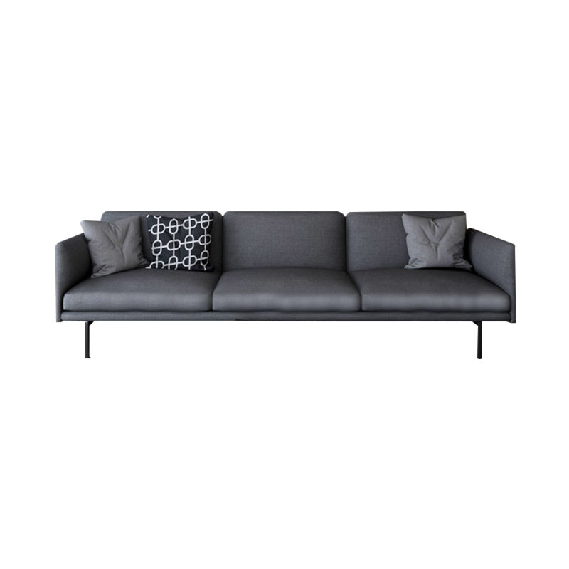 Amerikaanse Stof Sofa Post-Moderne Licht Luxe Klein Appartement Woonkamer Compleet <span class=keywords><strong>Meubels</strong></span> <span class=keywords><strong>Hong</strong></span> <span class=keywords><strong>Kong</strong></span> Stijl Drie Zitsbank