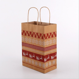 High quality factory price biodegradable flat bottom stand up kraft paper bag