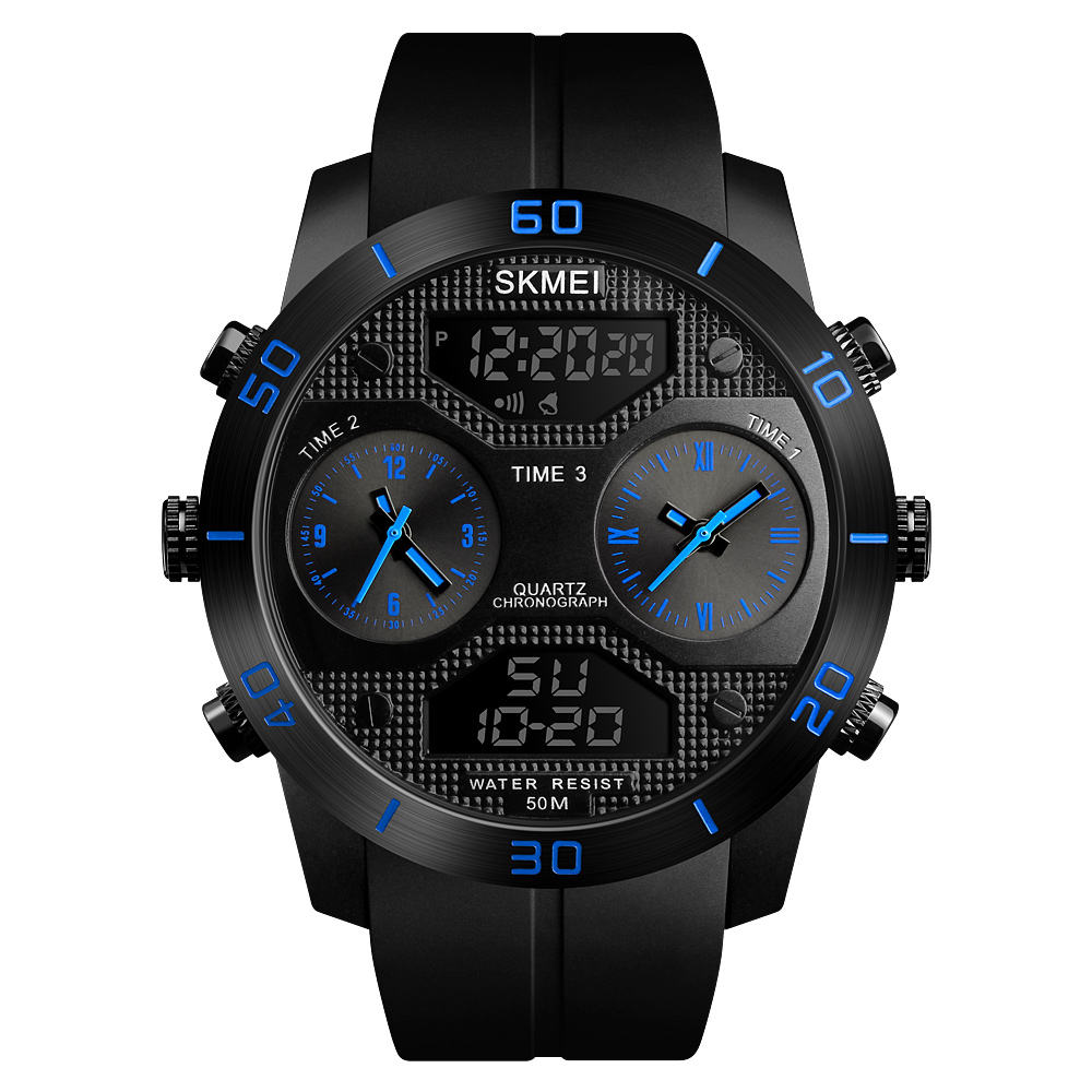 Reloj Watches SKMEI 1355 Reloj Para Hombre Sport Watches For Men Waterproof Big Dial Watch