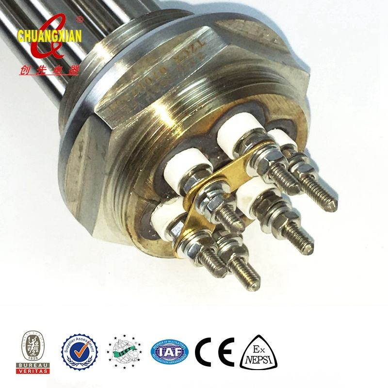The popular TZCX brand stainless steel heating element for steam generator