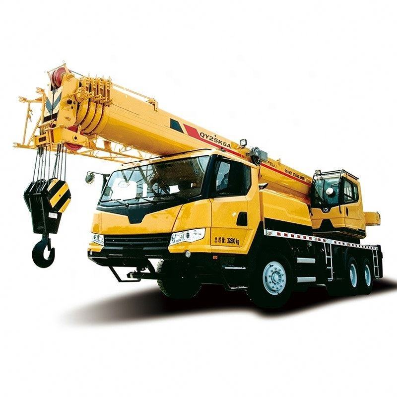 25 Ton 12 Ton Mobile Truck Crane With Strong Arm And Firm Chassis Truck Crane QY25K5C
