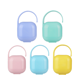 Baby Case Baby Pacifier XH Solid Colors Portable Plastic Baby Soother Pacifier Holder Case