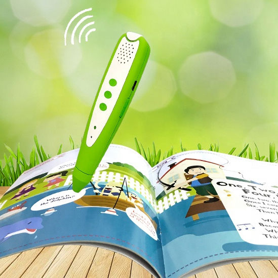 Hot sell electric English talking pen book reading pen with sound books for kids learn english