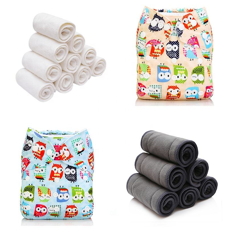 BESUPER BL14 Disposable flushable bamboo nappy roll liner/bamboo liner inserts/Bamboo charcoal cloth diaper padfor baby