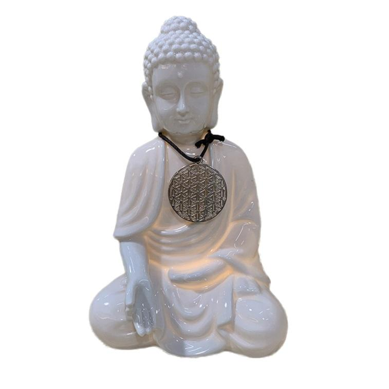FREE SAMPLE Wholesale Factory Porcelain Buddha Statue, 10 Years Factory Religious Ceramic Buddha Statues