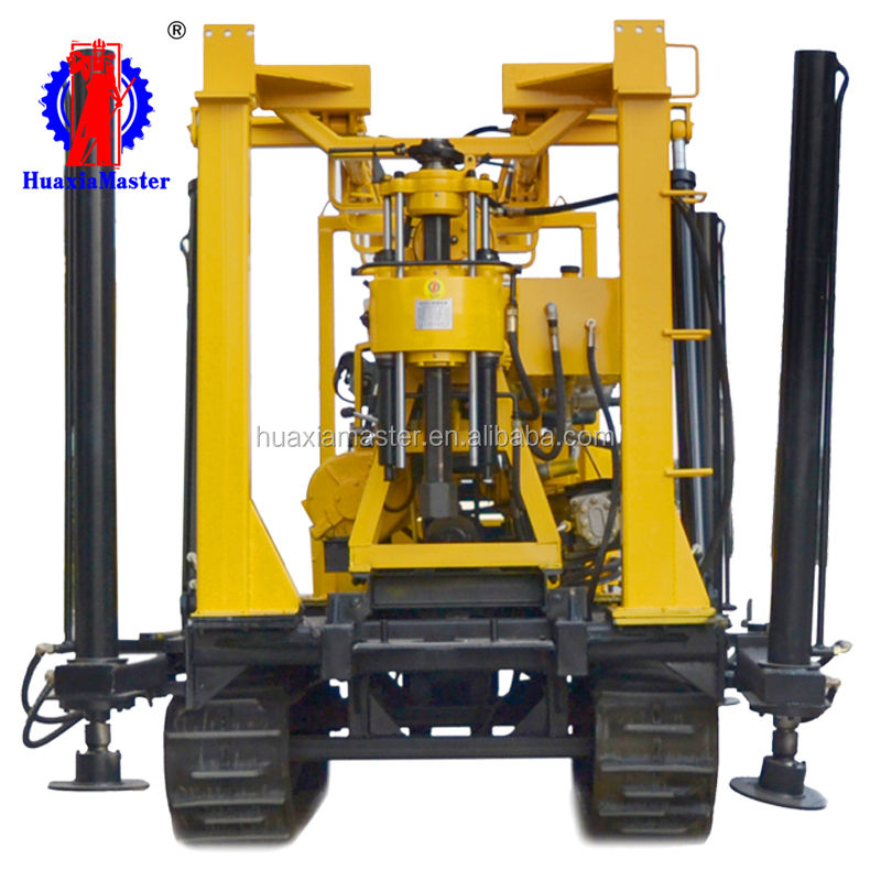XYD-130Crawler engineering geological exploration rig/ Full hydraulic operation of core sampling drill saves time and effort