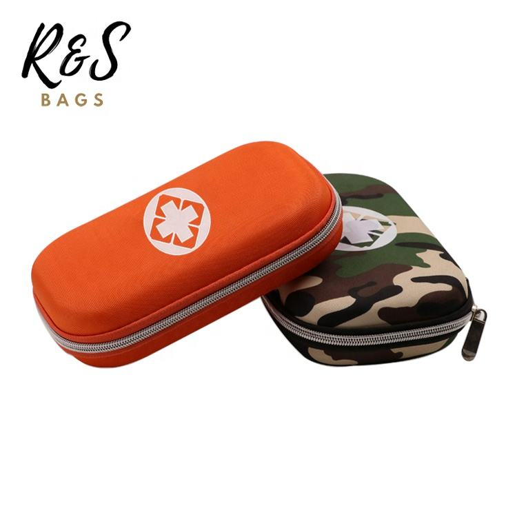 RSBAGS Printing Logo Mini EVA First Aid Medical Kit Bag With Zipper For Outdoor Survival Camping Basic First Aid Kit