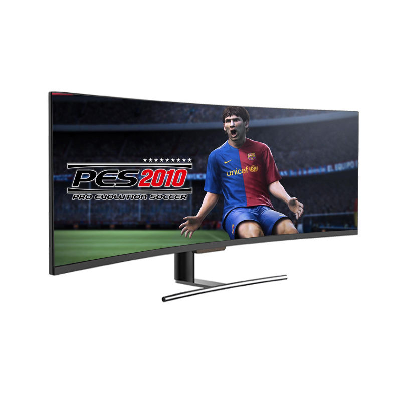 4k gaming monitor 49 inch gaming lcd curve IPS screen