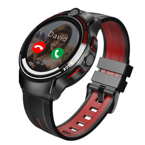 2020 5 Juta Pxels HD Dual Kamera Sport GPS Smartwatch, android Video Call Watch Ponsel 4G Halth Smart Watch dengan Google Play