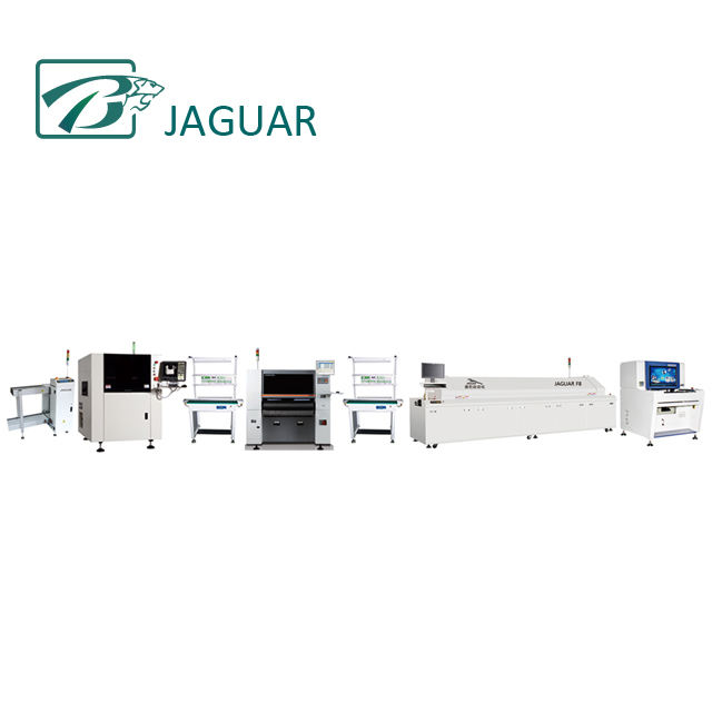Jaguar Factory LED Lights Assembly Line and LED Lamps Production Line Equipment