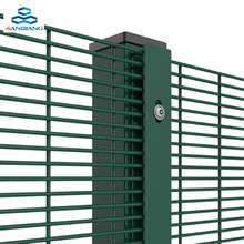 high quality anti climb 358 fence used in prison
