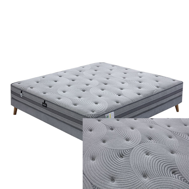Wholesale High Quality Hotel Luxury Top Queen King Size Sleep Well Sponge Spring Bed Foam Mattress For Sale