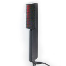 Small hand-held electric straight hair comb hair straightener family hotel salon
