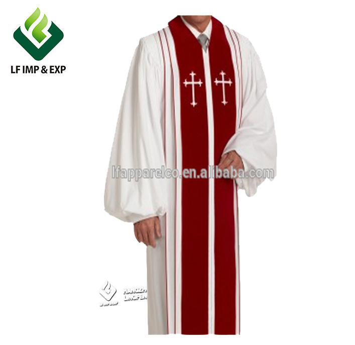 Groothandel clergy kerk gown, clergy kleding of clergy custom gewaden