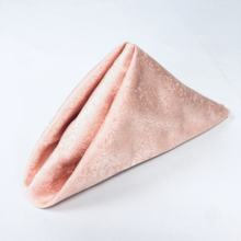 blush pink 18.8*18.8inch mouth cloth napkin of table dinner napkins