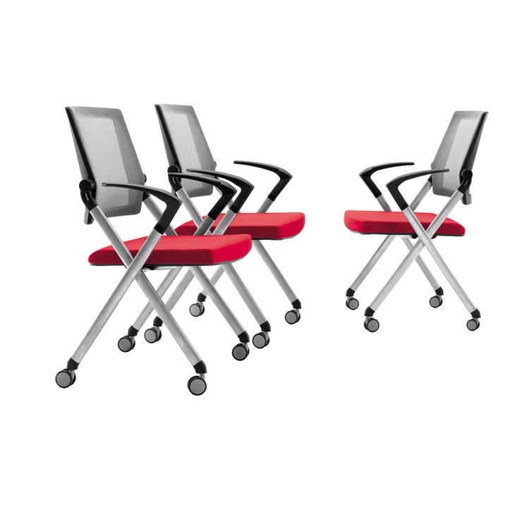 Vaseat stacking conference chair folding office chair