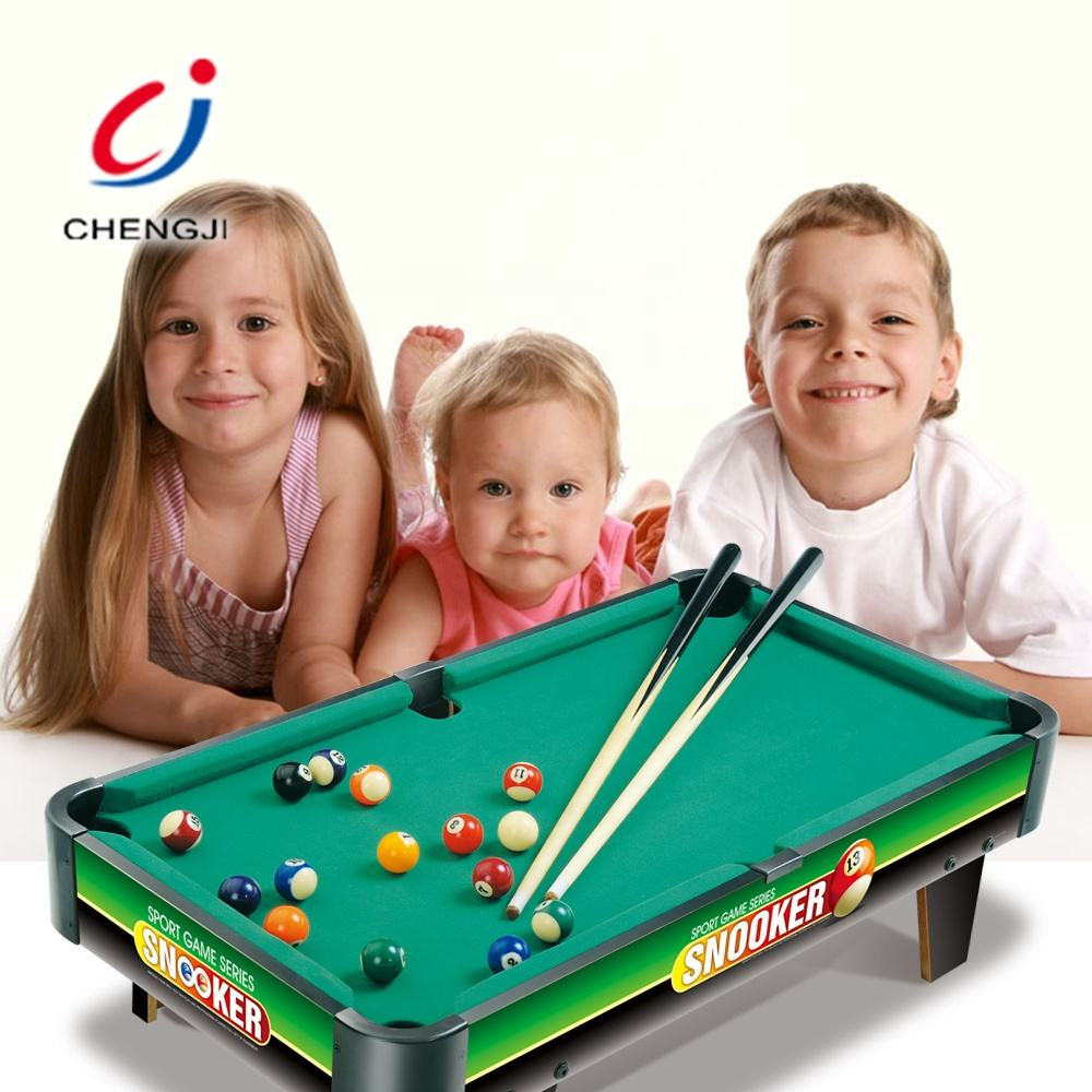 Toy billiards snooker sport games mini pool table for kids playing