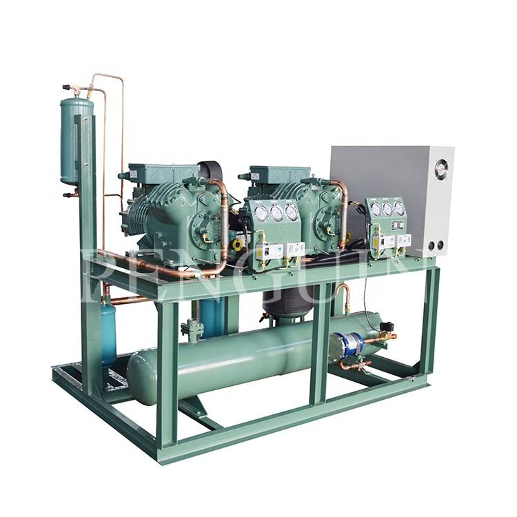 40hp Low temperature high capacity bitzer multi-compressor Piston parallel unit for freezer refrigeration system
