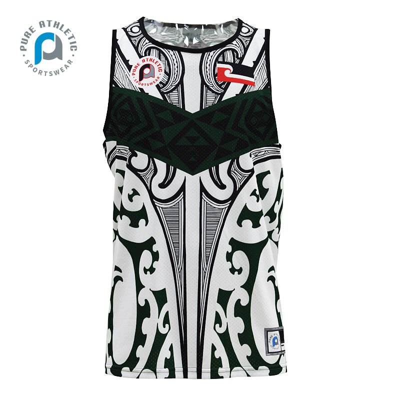PURE Wholesale Cheap Custom 100% Polyester Tank Top Team quick dry Sports Training Singlets
