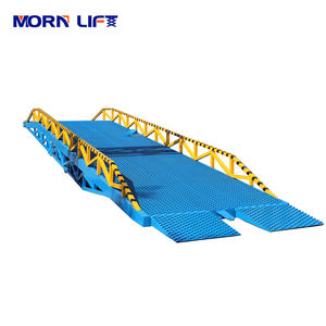 12T Warehouse Truck Mobile Container Loading Dock Ramps