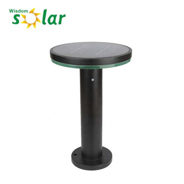 Driveway light posts residential solar powered lawn lamp garden lamparas solares para jardines
