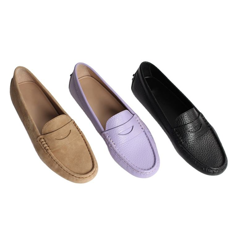 Factory Sale Women Flats Shoes 2020 Loafers Candy Color Slip on Flat Shoes Casual Flats Comfortable Loafer Shoes Women