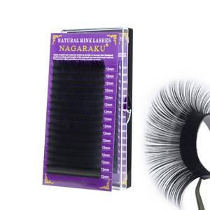 NAGARAKU Synthetic Mink Lash Extension Russian Volume eyelashes individual eyelash extension mink eyelash