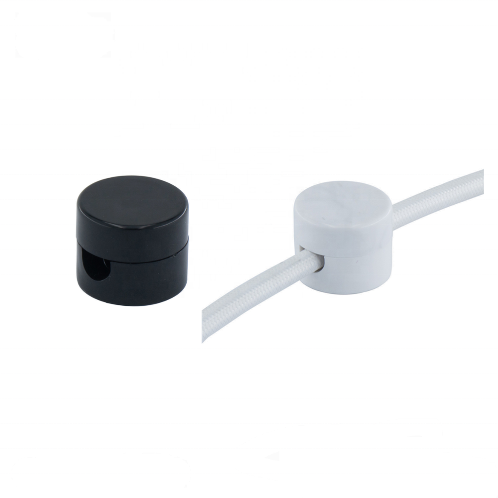 Black cable clips plastic cable holder PVC wire clamp cable retainer