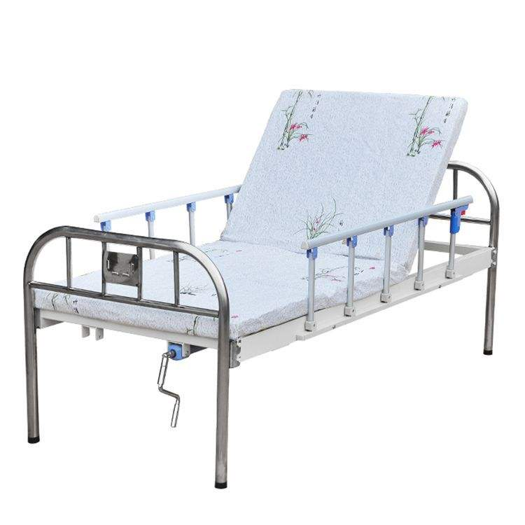 Multi function single swing bed home back care roll over bed