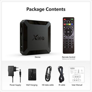 2020 Giá Rẻ Nhất Dual Wifi Android 10 4K Android Tv Box X96Q 1GB 8GB 2GB 16GB TV Box Android 4K