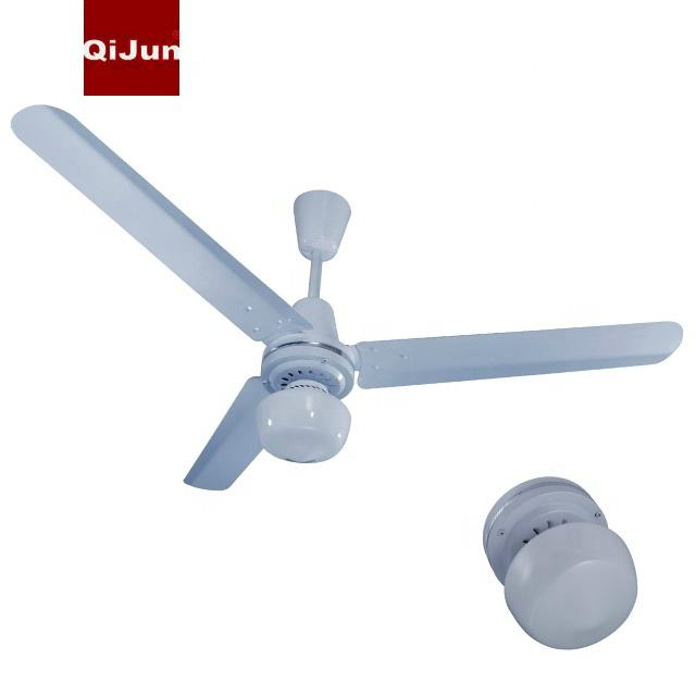 56 Inch Electric Ventilador Cool Fan 80W AC Homestead Ceiling Fan With LED Light to Mexico NOM