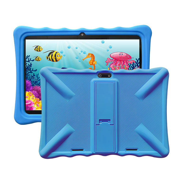 New Arrival Anti-fall Shockproof Tablet PC Case Ultra Thin Silicone Case Back Cover with stand For 10.1 Inch Tablets