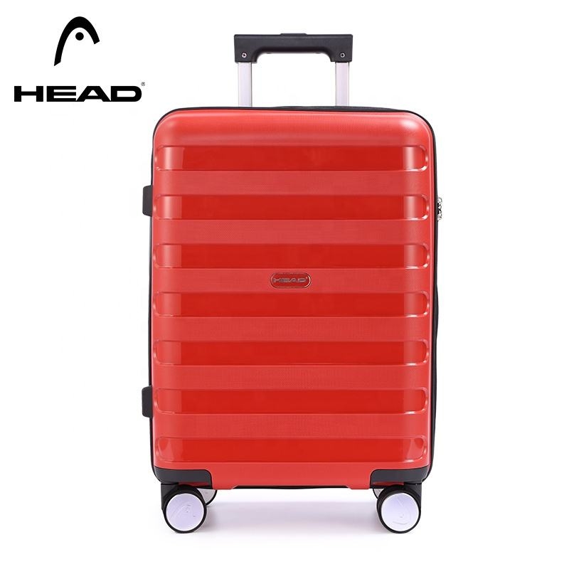 "24"" unisex travel suitcase with lock luggage can bring the aircraft landing chassis spinner luggage"