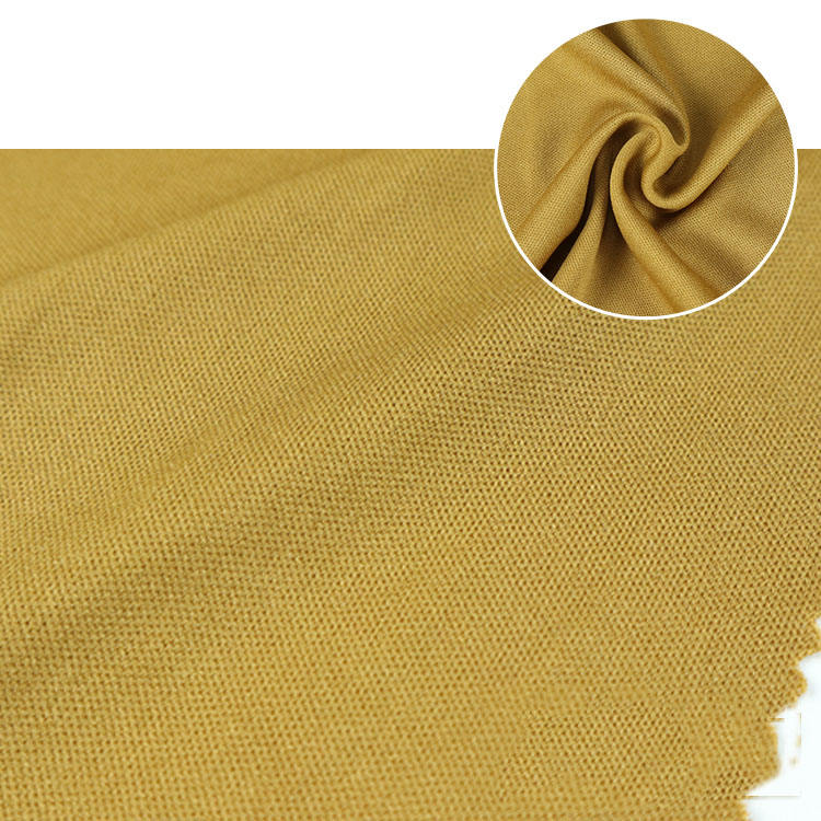 Special recycle textiles dyed interlock knitted polyester jersey recycled poly fabric