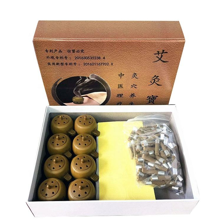 mini moxa stick Natural moxibustion massage for pain relieving Moxa device Traditional chinese medicine