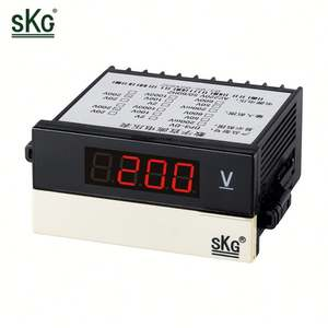 Promotionele Custom Logo Digitale Analoge Dc Voltmeter