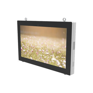 55 Inch Outdoor Wandmontage Lcd Display Waterdichte Hoge Helderheid Multi Touch Screen Smalle Frame Android Wifi Play Reclame