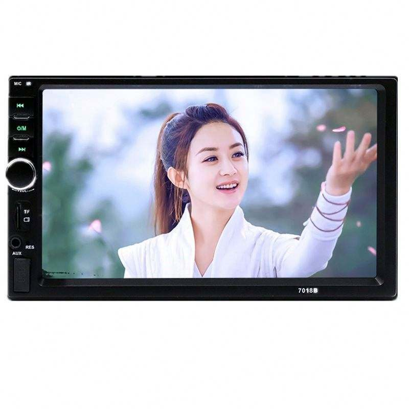"7 "" 2 Din Car Radio With Touch Screen And tv, Radio Tuner, MP3/MP4 , 2 Din Radio Combination"