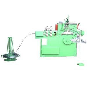 Automatic laundry galvanised steel wire hanger making machine