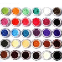 16 Colors Wholesale Cosmetics Grade Beautiful Mica Powder Set Pearl Pigment for Eyeshadow for Epoxy Resin