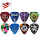 Amazon Hot Sale 0.46mm 0.71mm 0.88mm 0.96mm 1.2mm 1.5mm Various Thickness Choices Custom OEM Celluloid Guitars Plectrum Picks