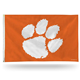 NCAA Clemson Tigers 3-Foot by 5-Foot Single Sided Banner Flag with Grommets