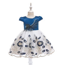 Yoliyolei wholesale summer dot new design flower beatiful dress three piece sets for 2-8 years old