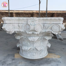 2019 Trending Products China Wholesale Stone Roman Column Capital