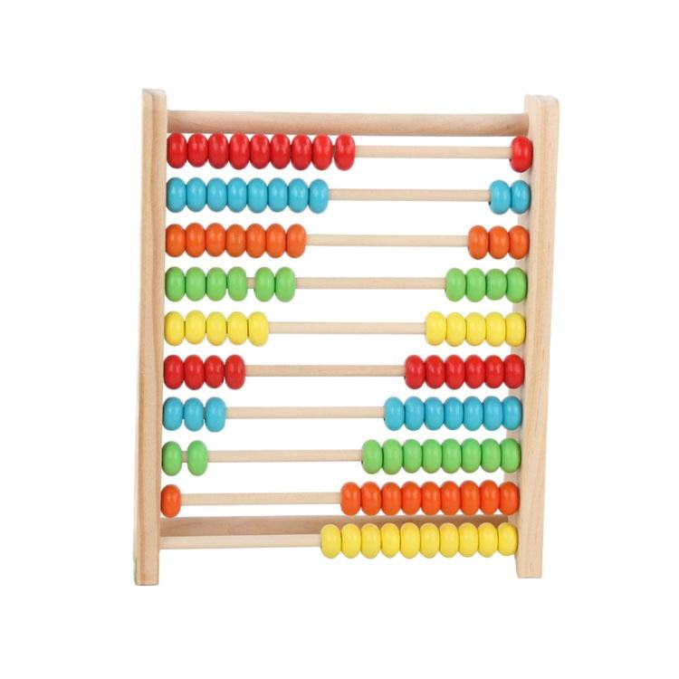 Educational toys wooden arithmetic teaching aids abacus