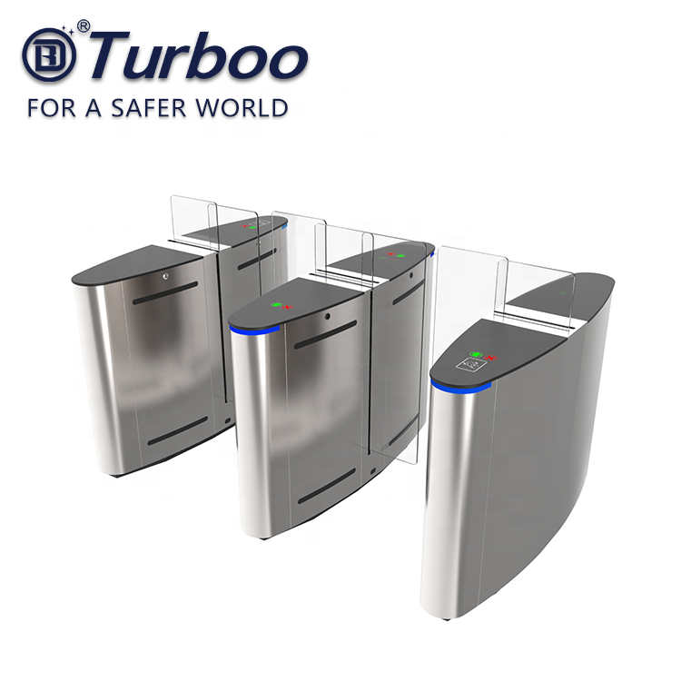 High security fingerprint pedestrian face recognition access control turnstile barrier gate system for gyms