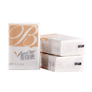 Wit Virgin Hout Papier Draagbare Mini Pocket Tissue